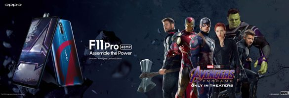Unleash the Superhero in You with the OPPO F11 Pro Marvel's Avengers Limited Edition