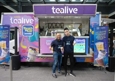Touch 'N Go eWallet embarks on A Year-long Partnership with Tealive