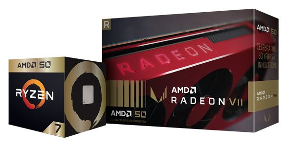 AMD Commemorates 50th Anniversary with launch of 'Gold Edition' AMD Ryzen & Radeon