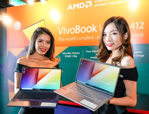 Malaysia's first ASUS & AMD Ryzen powered laptops with the new GeForce GTX