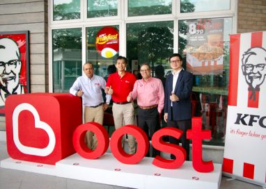 You can now pay with Boost e-Wallet at KFC Restaurants nationwide