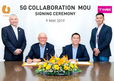 U Mobile signs MOU with TIME dotCom to deploy its Backhaul Solution for 5G Live Trials