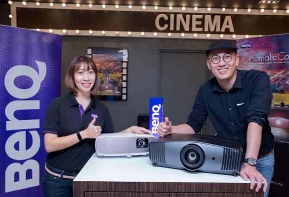 BenQ launches World's First True 4K HDR-PRO Home Cinema DLP Projectors with Super Wide DCI-P3 Color Gamut