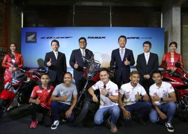 Boon Siew Honda bring in the 2019 Honda CBR500R, CB500F & CB500X to Malaysia