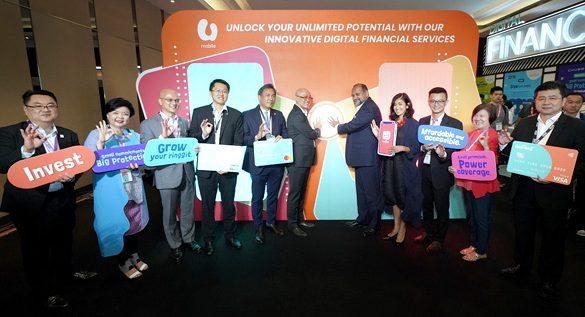 U Mobile unveils a Comprehensive Fintech Ecosystem with Digital Financial Services consisting of GoPayz and GoBiz
