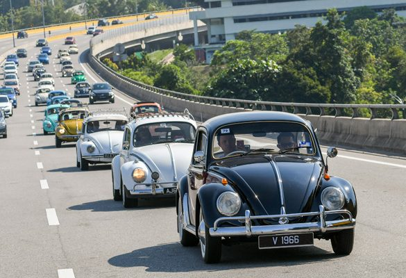 Volkswagen celebrates the Beetle with An Iconic Gathering