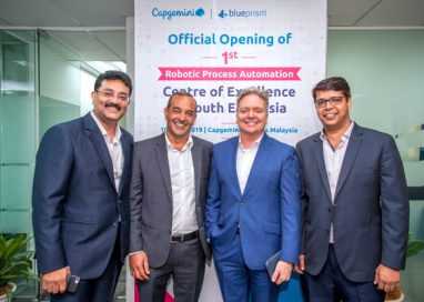 Capgemini opens its first Robotic Process Automation Center of Excellence with Blue Prism in South East Asia