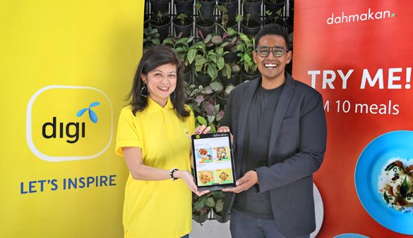Healthier Digi employees with dahmakan's digital canteen