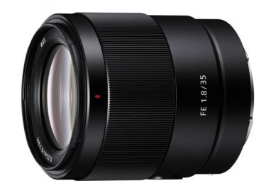 Sony boosts Full-Frame Lens Line-up with Introduction of 35mm F1.8, Lightweight Prime