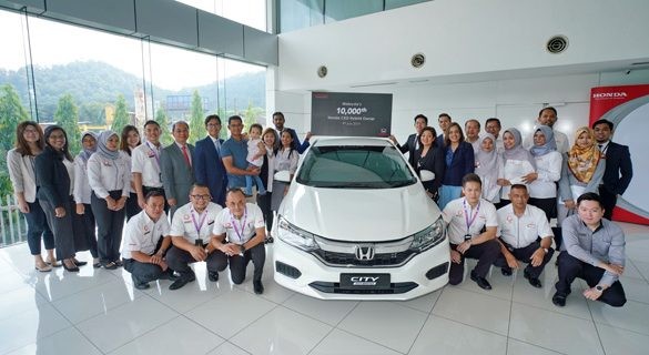 Honda's Locally Produced Hybrid Models reach Milestone of 10,000 Units Sold