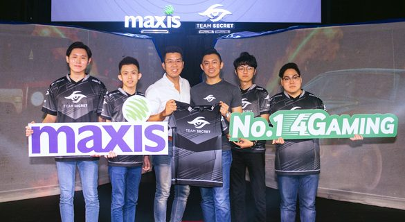 Maxis collaborates with world-renowned eSports team to empower next generation of world-class players in Malaysia