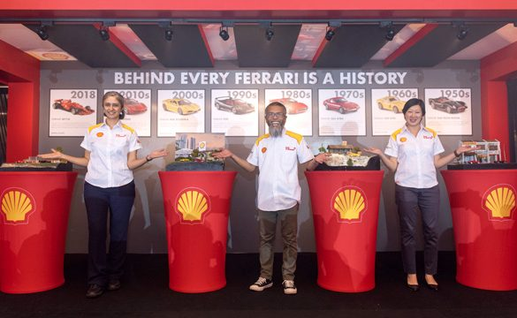 Shell sets hearts racing with its latest Limited-Edition Ferrari Collection