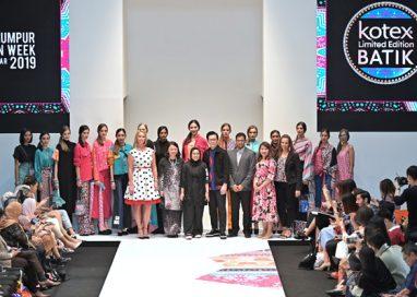 Sanitary Pads meet Fashion through Kotex Batik Collection at KL Fashion Week