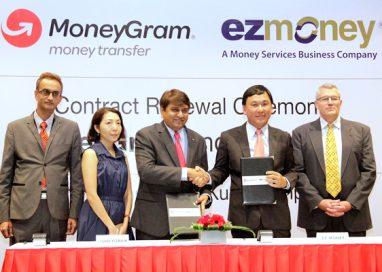 MoneyGram Renews Contract with EZ Money