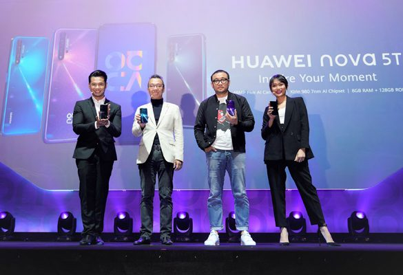 HUAWEI nova 5T launched globally