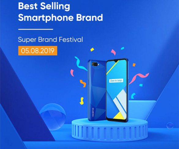 Realme C2 became Malaysians' Favourite on Super Brand Festival