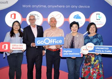 U Mobile partners with Microsoft to launch GoOffice, the country's first Voice, Data and Office Applications Bundle for SMEs