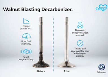 Volkswagen adds new aftersales offering – Walnut Blasting Decarbonizer