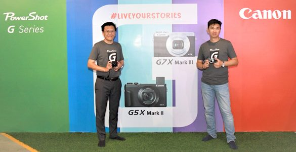 Canon introduces Latest PowerShot G5 X Mark II & PowerShot G7 X Mark III