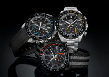 Casio has released Solar-Powered Chronograph EDIFICE Watch with Countdown Bezel
