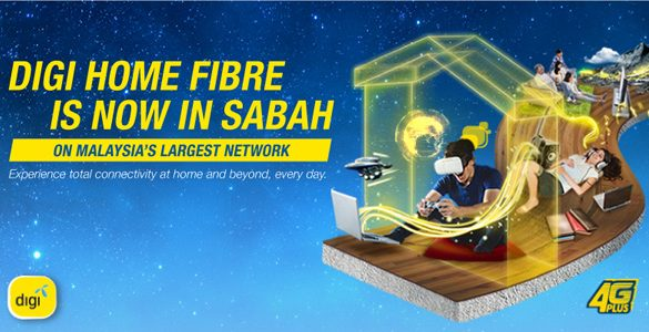 Digi Home Fibre launches in Sabah with speeds up to 1Gbps