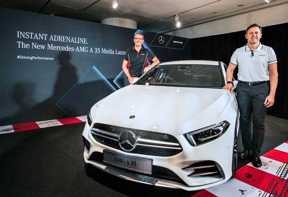 Instant Adrenaline with the new Mercedes-AMG A 35 4MATIC Sedan