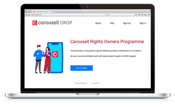 Carousell tackles Unauthorised Goods with Carousell Rights Owners Programme (CROP)