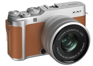 Introducing the FUJIFILM X-A7 mirrorless digital camera