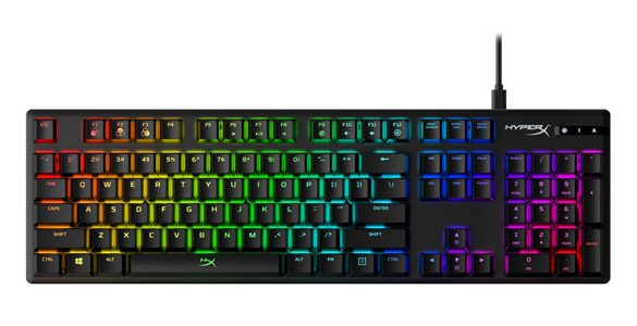 HyperX Branded Switches Now Shipping on Alloy Origins Mechanical Gaming Keyboard