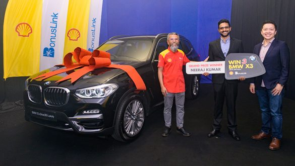 Shell and BonusLink announce the First Grand Prize Winner of Menangi 3 BMW X3 Contest