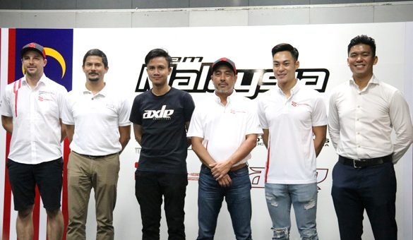 Team Malaysia at the FIA Motorsport Games