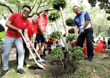 'One Canon One Tree' extends Canon's Efforts to plough back into the Community