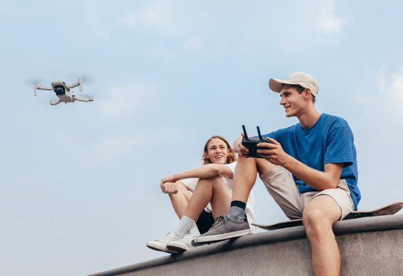 DJI's Lightest and Smallest Foldable Drone debuts in Malaysia