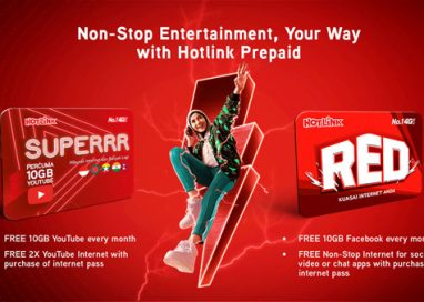Hotlink lets Malaysians experience non-stop entertainment, their way on YouTube and Facebook