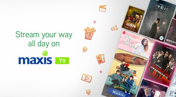 Maxis TV launched with worry-free VOD passes to stream premium movies & TV shows