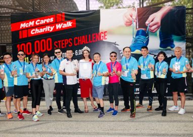 McMillan Woods Global & Tropicana Metropark succeeds to organize 100,000 Steps Challenge, raising RM100K for the Blind Association