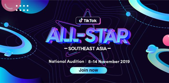 "TikTok launches ""All-Star Southeast Asia 2019"""