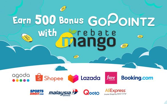 GoPayz customers who shop via RebateMango will earn GoPointz