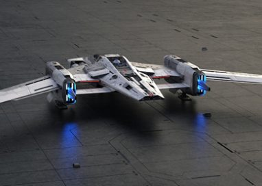 Porsche and Lucasfilm present starship design