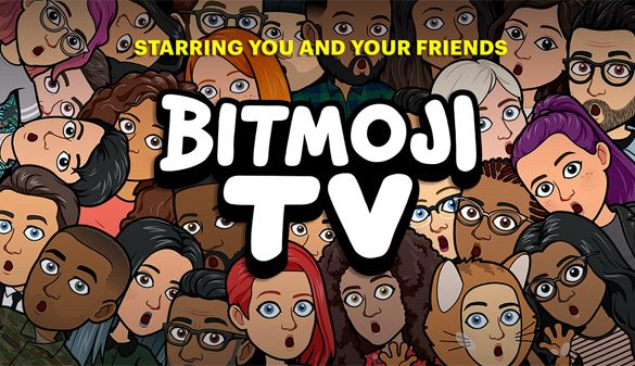 Snapchat Introduces a new animated series, Bitmoji TV – starring YOU!