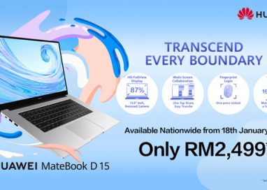 Malaysia is First Overseas Market to introduce HUAWEI MateBook D 15 Laptop with an Irresistible Price of RM2,499