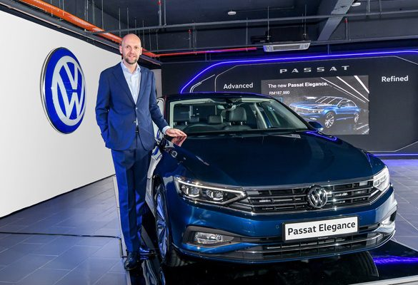 Advanced, refined: Volkswagen launches the New Passat Elegance