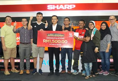 Sharp thanks Customers for 35 Years of Loyalty