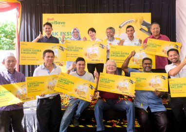 Four Lucky Winners receive RM20,000 each from Shell Malaysia