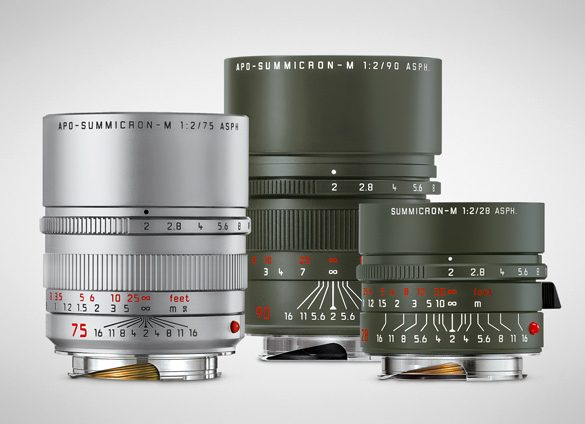 Leica Camera AG introduces a new variant and two special editions lenses for the Leica M