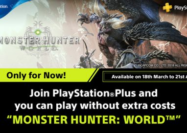 """Monster Hunter: World"" franchise offer to PlayStation®Plus Members"