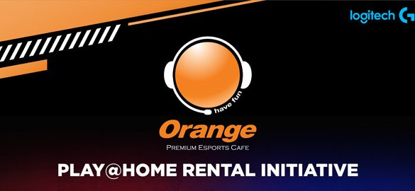 Staying Home Made Easier with the PLAY@HOME INITIATIVE by Orange Esports Cafe and Logitech Malaysia