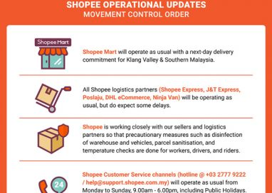 Shopee to continue business as usual in Malaysia