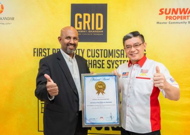 Sunway Property enters Malaysia Book Of Records for First Property Customisation and Online Purchase System
