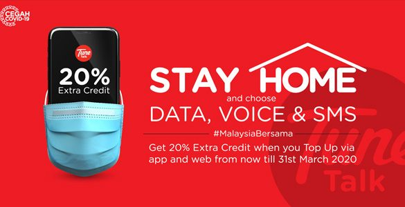 Stay Home and Choose Data, Voice & SMS
